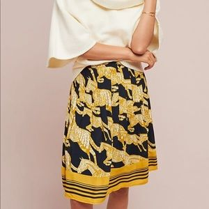 Anthropologie Maeve Jade A-Line Skirt